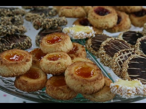 sablés-moulés-à-la-confiture-(recette-marocaine)---shortbread-cookies-with-jam---الصابلي-بالمربى