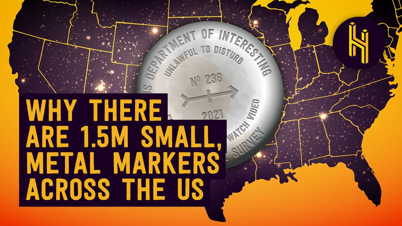 Why There are 1.5 Million Small Metal Markers Across the US