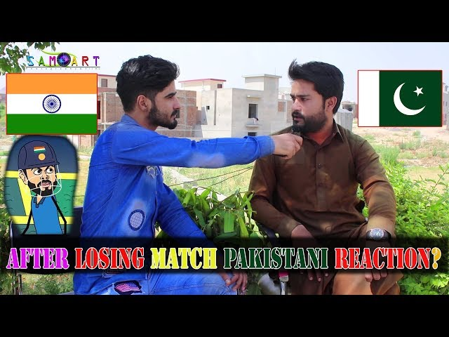 After losing Match From India Pakistani Reactions || pakistan vs india