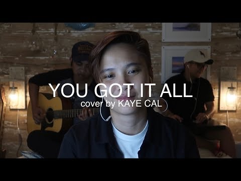 You Got It All - The Jets (KAYE CAL Acoustic Cover)