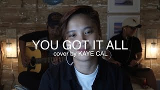 You Got It All The Jets KAYE CAL Acoustic Cover.mp3