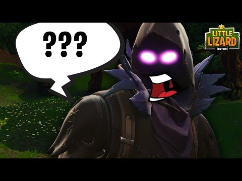 RAVEN SPEAKS FOR THE FIRST TIME! - FORTNITE SHORT FILMS
