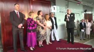 X Forum Humanum Mazurkas-otwarcie wernisażu-Andrzej Bartkowski,Janina Tuora i artyści w MCC Mazurkas