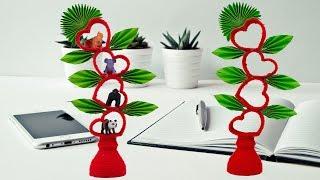 Plastic bottle Diwali craft idea  best out of waste  plastic bottle and woolen craft
