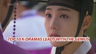 Video Top 10 Korean drama leads with the genius - Mister Bin download MP3, 3GP, MP4, WEBM, AVI, FLV Agustus 2017