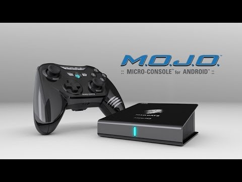 M o j o micro console for android by mad catz youtube - Mad catz mojo micro console ...