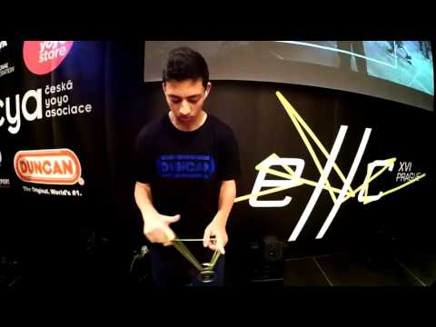 Tal Mordoch - 2016 1A European yoyo champion