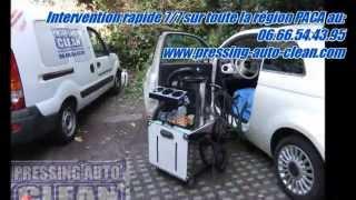 Entreprise de nettoyage sièges, moquettes, banquette d'intérieur de camping-car à Toulon