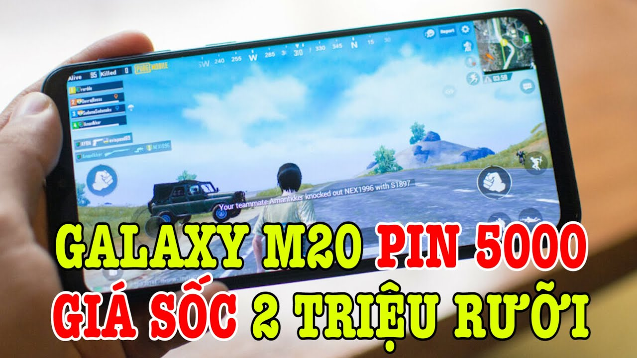 Tư vấn điện thoại Galaxy M20 PIN 5000 chỉ còn 2 TRIỆU RƯỠI