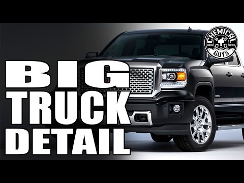 How To Detail A Large Truck - GMC Denali - Chemical Guys Car Wash