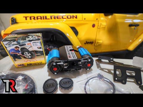 Hidden Air Compressor Install – Jeep Wrangler or Gladiator