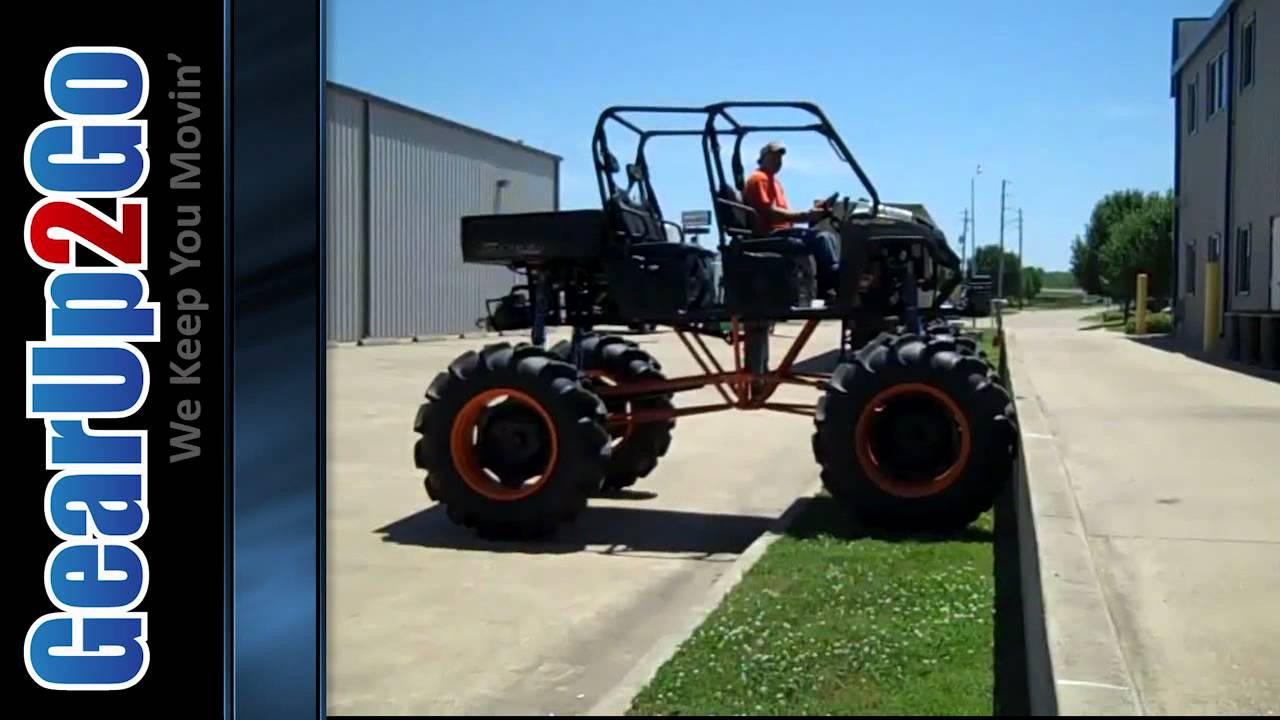 Side By Side Utv >> New RZR That is Jacked Up!! High Lifter Products In Action - from GearUp2Go.com - YouTube
