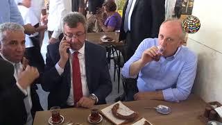 Muharrem İnce kafede Erdoğan'a böyle takıldı