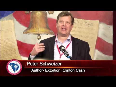 Peter Schweitzer at the South Carolina Tea Party Convention 1/17/16
