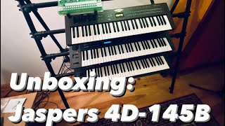Out With The Old In With The New! - UNBOXING the Jaspers 4D-145B synthesizer rack