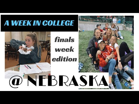 FINALS WEEK IN COLLEGE - UNL (my last week here ever)
