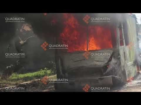Atentan contra la Nissan de Uruapan con bombas molotov