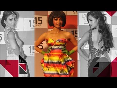 Lakme Fashion Week 2015: Radhika Apte, Soha Ali Khan, Kunal Kapoor Walk The Ramp | Bollywood News