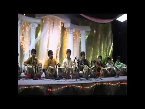 Dexter Jr tabla students at diwali 2012