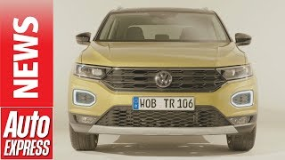 New Volkswagen T-Roc SUV revealed - your first look at VW's Mazda CX-3 rival