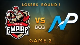 Team Empire vs Team NP Game 2 - Dota Summit 7: Losers