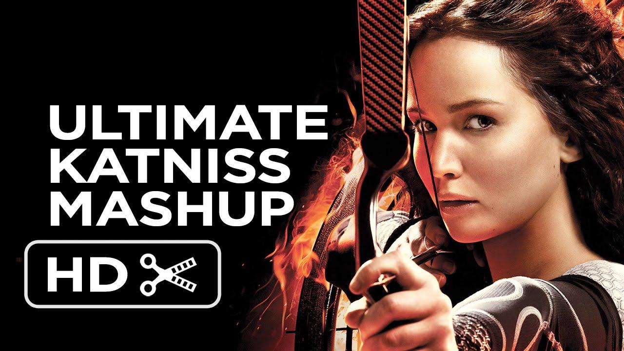 Katniss Everdeen - The Ultimate Girl on Fire Mashup (2014) - Jennifer Lawrence Movie HD