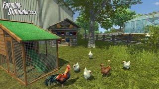 Farming Simulator 2013 (3) Сбор и продажа яиц