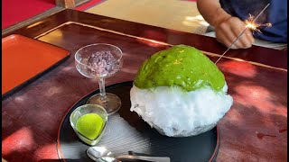 Japan VLOG   산속의 카페에서 빙수도 먹고, …