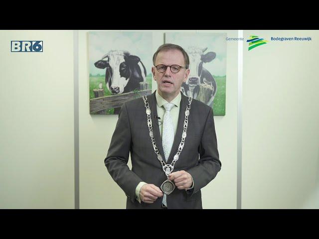 Nieuwjaarstoespraak burgemeester van der Kamp 2021