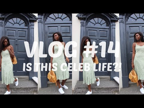 VLOG #14 IS THIS CELEB LIFE?! PHOTOSHOOT | RADIO BROADCAST