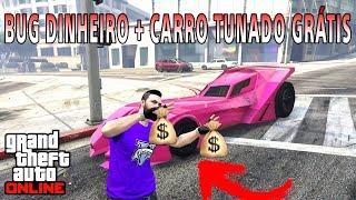 GTA V Online - Carro tunado de graça SOLO + bug de dinheiro SOLO (PS3,PS4,XBOX360,ONE,PC)