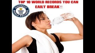Top 10 Guinness World Records That You Could Easily Break