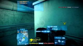 Nexus.BF3 | CEVO Week 4 | 5v5 Metro RU | Not losing a ticket :D
