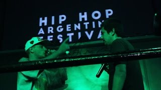 HIP HOP ARGENTINA FESTIVAL 2015 - DTOKE vs STIGMA (VIDEO OFICIAL)