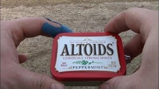 Altoids tin 3000mah Pass through battery for vaping. ego 510