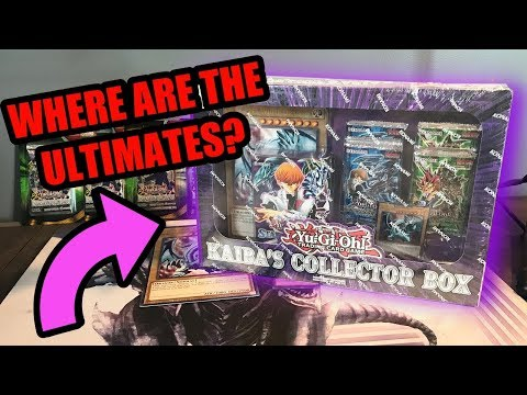 Is There Any Ultimate's In These Things? - Kaiba's Collector Box Opening