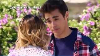 """Violetta 3 - Violetta y León cantan """"nuestro camino"""" y hablan (03x52)"""