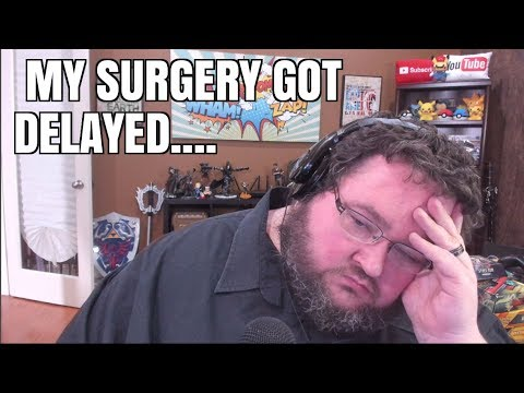 My gastric bypass surgery got delayed... :(