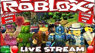 🔴 ROBLOX DESTRUCTION SIM / PLAYING WITH SUBSCRIBERS