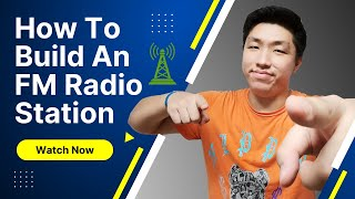 How to build FM Radio Station with FM transmitter in 15 minutes