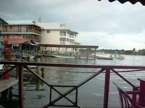 Bocas del Toro Panama Waterfront