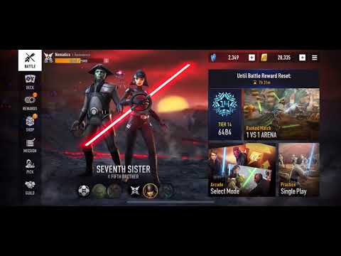 Star Wars: Force Arena - Seventh Sister, Just Forget About The Other 6.