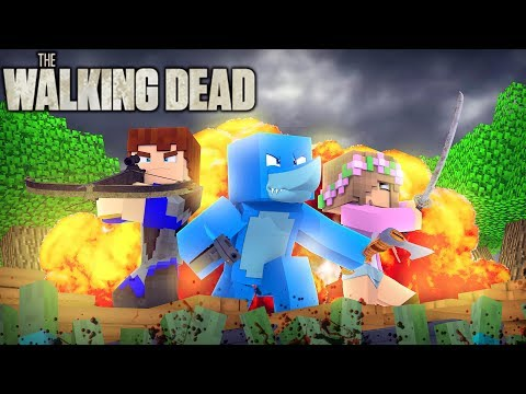 Minecraft THE WALKING DEAD - FROM THE BEGINNING ZOMBIE APOCALYPSE (Custom Mod Adventure)