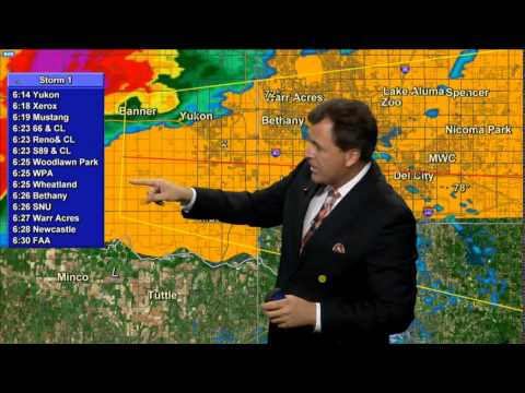 3-25-15 KFOR Tornado Coverage