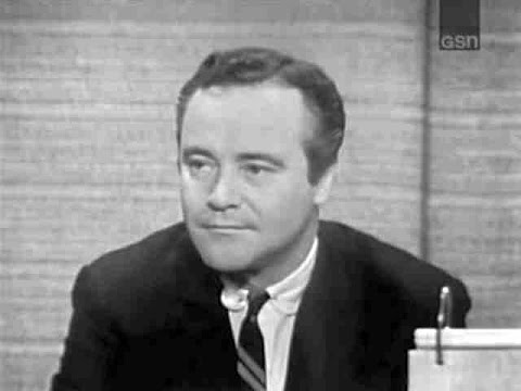 What's My Line?  Jack Lemmon; William Shatner & K Carlisle panel Jan 24, 1965 W COMMERCIALS
