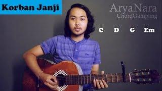 Chord Gampang (Korban Janji - GuyonWaton) by Arya Nara (Tutorial Gitar) Untuk Pemula