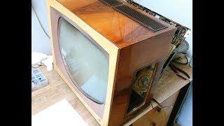 Oprava Elektronkové Televize: Tesla Marína 1.díl