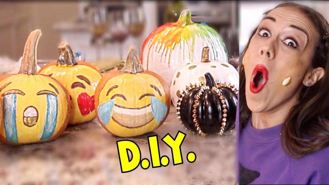 Diy cute pumpkin ideas youtube