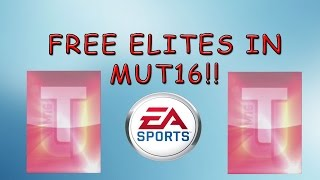 HOW TO GET 2 FREE ELITES IN MUT l MADDEN 16 MUT