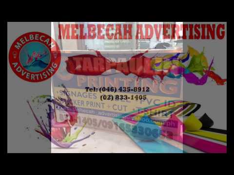 TARPAULIN AND STICKER PRINT / MELBECAH ADVERTISING SERVICES
